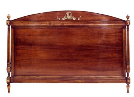 mobilier XVIIIème Taillardat : « Beauharnais » tête de lit en acajou de style Empire…